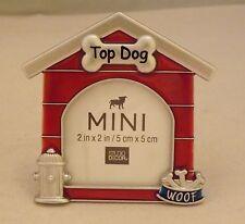 Studio Decor Mini Metal Photo Picture Frame - New - Top Dog