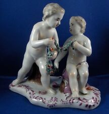 Antique 18thC Limbach Thuringia Porcelain Putti Figure Figurine Porzellan Figur