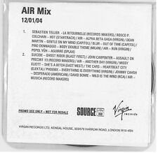 AIR (French Band) cdr AIR Mix RARE promo
