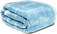 Compassion Blanket - Strength Courage Super Soft Warm Hugs, Get Well Gift Blanke