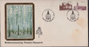 SOUTH AFRICA 1984 Forestry Research/IUFRO commemoration COVER unaddressed @D4589