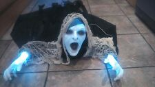 Halloween éclaircissant reaper/ghost/zombie/light up yeux/mains/feux/sound