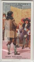 John Nevison 'Swift Nick' English Highwayman Robber Bandit 90+ Y/O Ad Trade Card