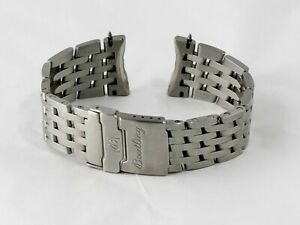 Breitling 740A Stainless Steel Navitimer Fighters 22/20 Watch Bracelet