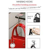 Watch Handbag Hook (Silver / Black / Pink / White)