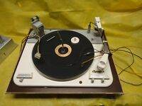 GARRARD TYPE A  RECORD PLAYER  CHANGER TURNTABLE WITH  PLATFORM