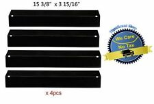 Porcelain Steel Heat Plates 4pk BBQ Gas Grill Parts Shield Cover for Uniflame US