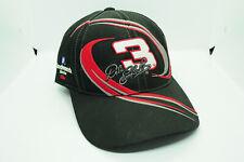 Black Dale Earnhardt #3 Chase Vortex Tribute Rockingham 2001 Strapback Hat Cap