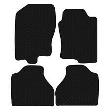 Tailored Rubber Car Floor Mats FOR Nissan Navara 2011 Onwards Black 3mm