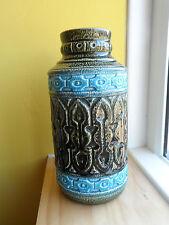 Vintage Mid Century PRICE KENSINGTON Athena Coliseum P&K Gloss Green & Blue Vase