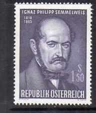 AUSTRIA MNH 1965 SG1455 DEATH CENTENARY OF IGNAZ SEMMELWEIS