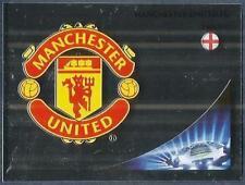 PANINI UEFA CHAMPIONS LEAGUE 2012-13- #516-MANCHESTER UNITED TEAM BADGE-FOIL