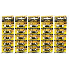 50 pcs AG4 D377 L626 SR66 SR626SW 1.5V Alkaline Button Cell Battery HyperPS