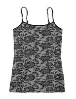 LOFT Outlet Women's L - NWT$29.99 - Black Lace Overlay Camisole Tank