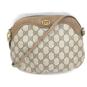 Gucci Shoulder Bag  Browns PVC 1905659