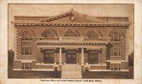Postcard Conference Memorial United Brethren Church in South Bend Indiana~124172