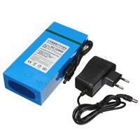 20000mAh Li-ion Super Rechargeable Battery  DC 12V Pack  AC Charger & EU Plug