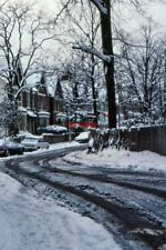 PHOTO  1991 BOTTOM OF FOX HILL AFTER HEAVY SNOW