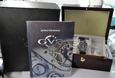 Men's Gevril 4121 LE 2836-2 25J 40mm Stainless Automatic Date w/ Box & Papers