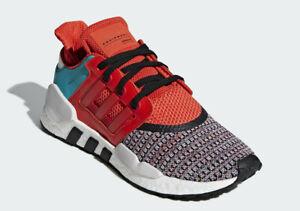"adidas EQT SUPPORT 91/18 ""La Merce"" Colorway BOOST Bold Orange Core D97049 10.5"