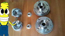 VW Jetta Front Wheel Hub And Bearing Kit Assembly 1990-1998 PAIR TWO