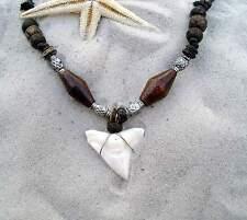 n189 N / Großer Haizahn Haizahnkette Haifischzahnkette Surferkette Shark tooth