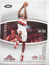 2001-02 FLEER MARQUEE  DOUBLE ROOKIE CARD # 118 PORTLAND   BOX54
