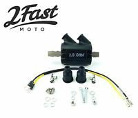 Dynatek Style 12V 12 Volt Ignition Coil Dual Output High Performance 3 Ohm NEW