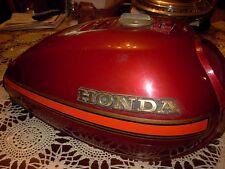 HONDA cm185 cm185t FUEL GAS petrol TANK RED MAROON cm200t 1978 1979