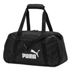 Puma Phase Sports Bag - Black NEW