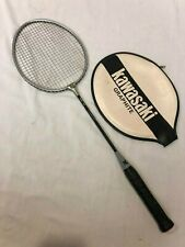 Vintage Kawasaki 82 Badminton Racket - Graphite Shaft - Made in Japan w/ Cover