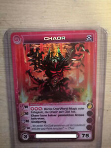 Chaotic tcg - Chaor - German -  MAX ENERGY- 1st edition