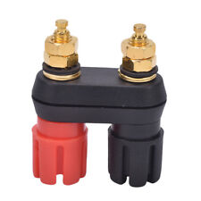 Dual Female Banana Plug Terminal Binding Post for Speaker Amplifier UsefuA5C