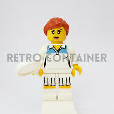 LEGO Minifigures - 1x col046 - Female Tennis Player Collectibles Omino Series 3