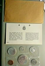 1965 Royal Canadian 80% Silver  Uncirculated Canada Mint Set