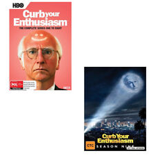 CURB YOUR ENTHUSIASM COMPLETE SEASON 1, 2, 3, 4, 5, 6, 7, 8 & 9 DVD BOX SET R4