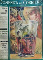 DOMENICA DEL CORRIERE N.33 1965
