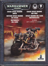 CITADEL GAMES WORKSHOP 43-08 WARHAMMER 40000 - CHAOS SPACE MARINE BIKER