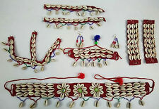 Kuchi Tribal Belly Dance Banjara Necklace Belt Anklet Head Piece Armlet Rabari