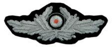 German Diplomat Artillery Officer Hat Silver Cap Badge Uniform Insignia Patch S