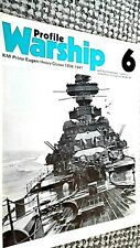 PROFILE WARSHIP #6: KM PRINZ EUGEN: HEAVY CRUISER 1938-1947 (1971)
