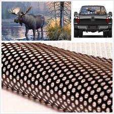 22''x65'' Vinyl Decal Sticker Car Rear Windscreen Forest Animals Moose Graphics