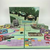 Vintage Formula 1 Board Game Waddingtons 1962 100% Complete VGC Racing Spin Out