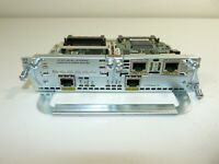 Cisco 2FE 2W Network Module w/ VWIC3-2MFT-T1 Card