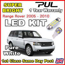 RANGE ROVER VOGUE L322 2002+ INTERIOR LED LIGHTING UPGRADE KIT 18 BULB SET