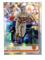 2019 TOPPS CHROME PRISM REFRACTOR JEFF MCNEIL RC METS