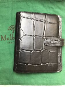 Mulberry Leather Agenda Diary - No Inserts