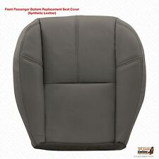 2011 2012 Chevy 1500 HD WT Work Truck Passenger Bottom Vinyl Seat Cover Gray