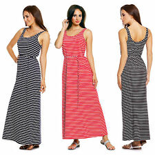 Full Length Summer/Beach Sleeveless Sundresses for Women
