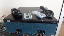 Cisco C3945E-VSEC/K9 Gigabit Services Router C3900-SPE250/K9 PVDM3-64 3945E-SEC